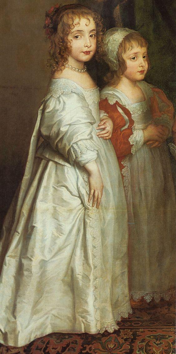 ntonis van Dyck (Antwerpen 1599 - London 1641)  Die fünf ältesten Kinder Karls I. (1637)  The British Royal Collection