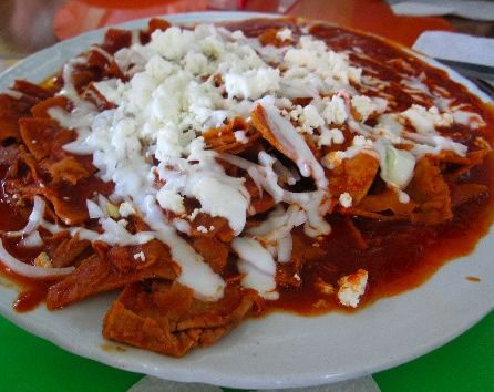 Perfect image of chilaquiles recipe