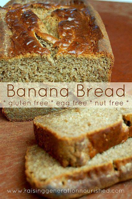 gluten vegan and more nut free banana bread dairy bananas breads ...
