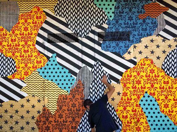 UNO street art - Camouflage 87054, murale a Rogliano (Cosenza), per Guia…