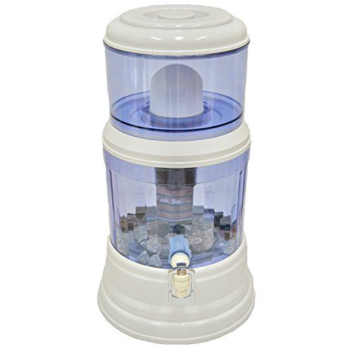 Saqua Countertop Water Filtration Purification System Natural Gravity Water Dispenser 3 Gallons 12l Water Filter Review Water Filter Countertop Water Filter