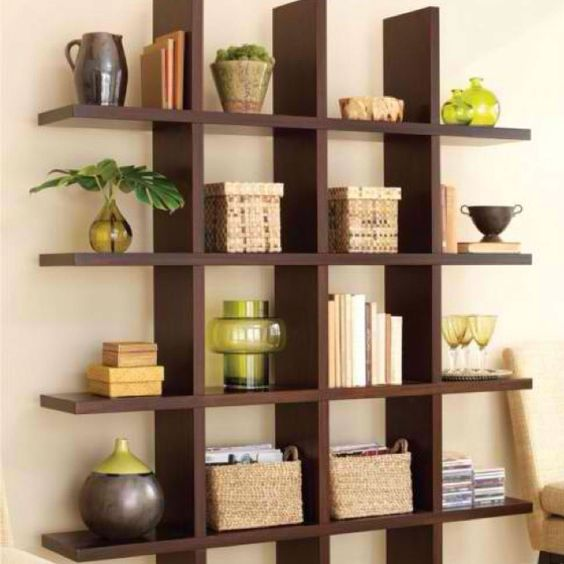 Home Design Ideas Book: Unique Homemade Bookshelves Creating A Unique Interior