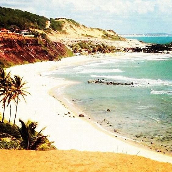 Praia do Amor view from Chapadao