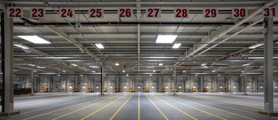Flächen für Logistik in Mitchelstown, Irland | ALDI Ireland Logistikzentrum | Foto: Anew McKnight