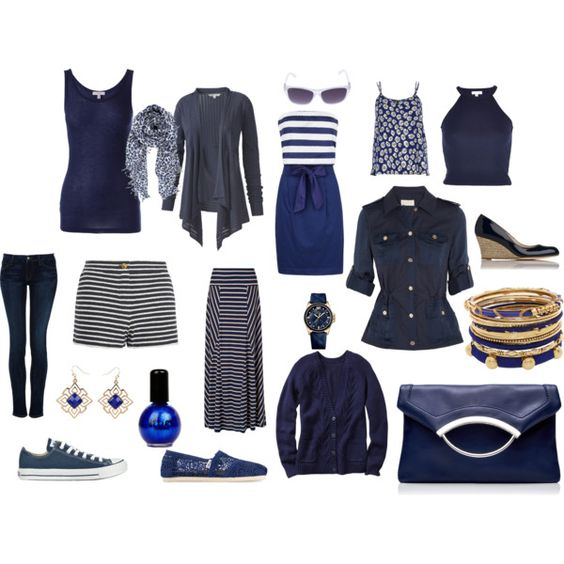 """Blue Over You"" by roberta-steve on Polyvore"
