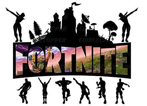 Fortnite Battle Royale Edible Cake Image Cake Topper Icing Sugar Paper A4 Sheet Edible Frosting Photo 14 Sheet Cake From Inkuten At The Sugar Free Desserts Edible Image Cake Cake Images