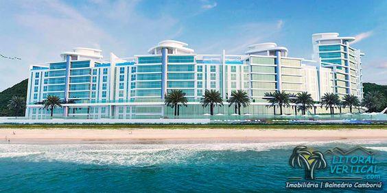 Encantador empreendimento FRENTE MAR na Praia Brava.  Conheça → http://goo.gl/8GmHs2