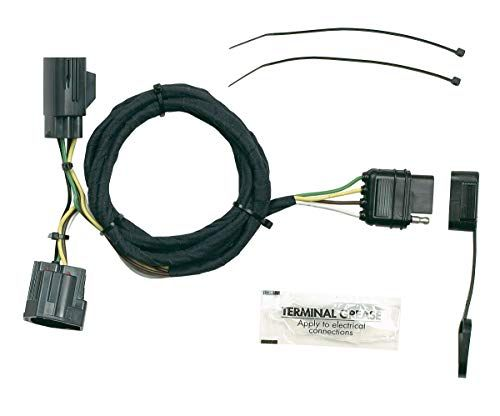 Hopkins 42635 Plug In Simple Vehicle To Trailer Wiring Kit Camper Towing Trailer Vehicles