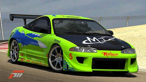 1995 Mitsubishi Eclipse - The Fast and the Furious
