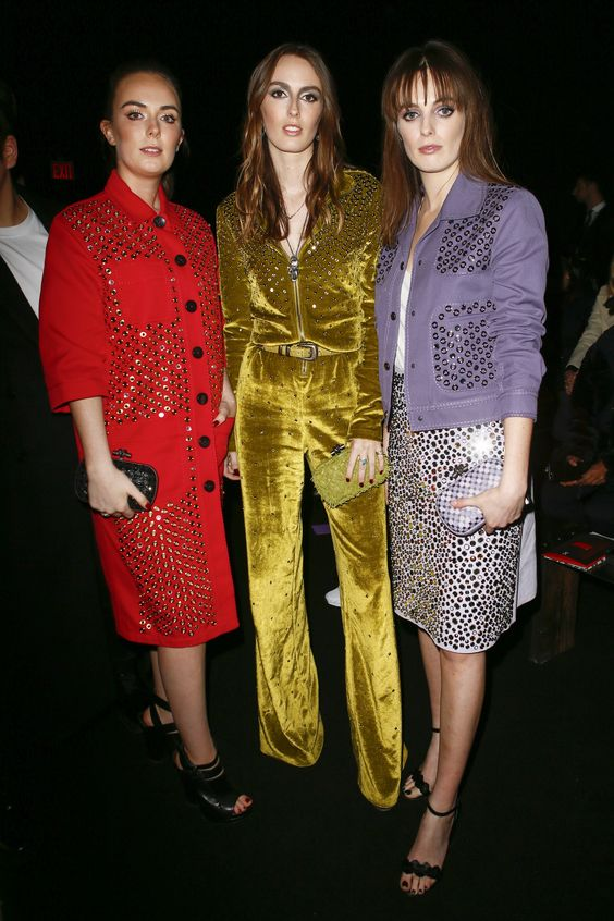 Eliza Manners, Alice Manners, and Violet Manners at Bottega Veneta