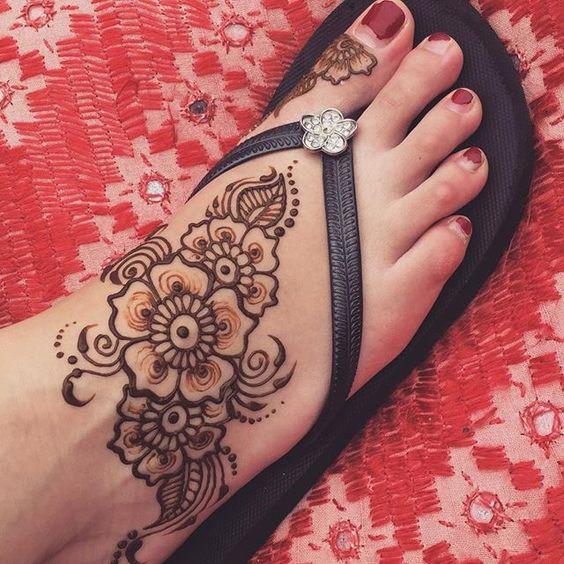 Beachy Henna Tattoos: Simple, Henna And Nice On Pinterest