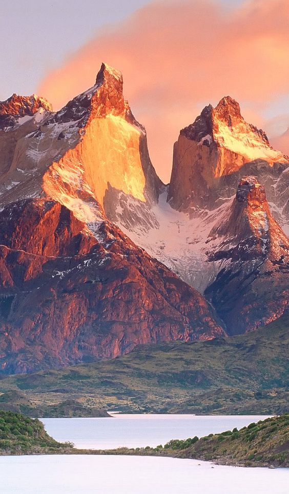 Los Cuernos en el Parque Nacional Torres del Paine
