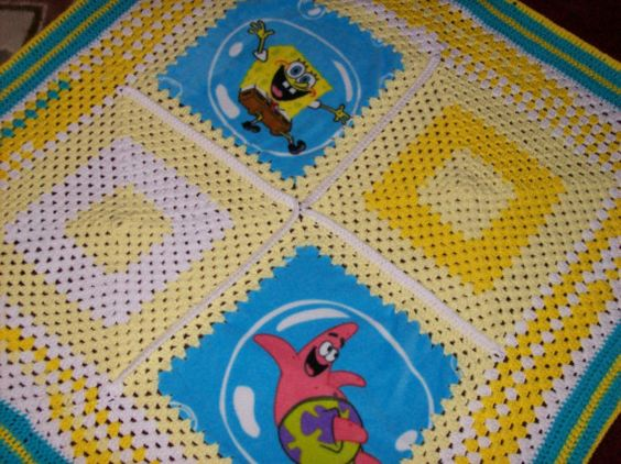 Spongebob squarepants children's blanket