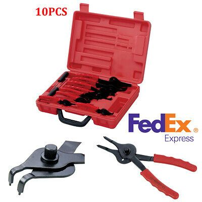 10pcs Heavy Duty Snap Ring Pliers Set Mechanics Circlips Auto Tool Set Usa Ship In 2020 Car Tools Snap Ring Tools