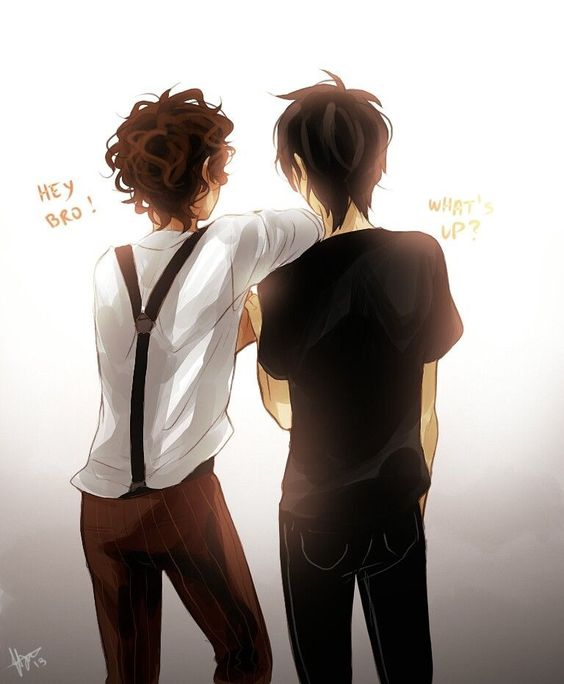 Leo Valdez and Nico Di Angelo. Lico is my favorite never-will-be-canon ship. (As opposed to ReyRae and Nico/Will Solace, which aren't canon, but could be)