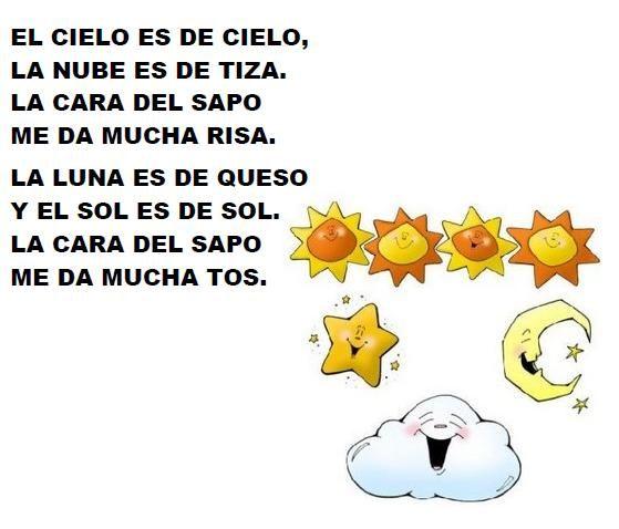 Poema3 Poemas Infantiles Poesias Cortas Para Niños Poemas Infantiles Para Niños