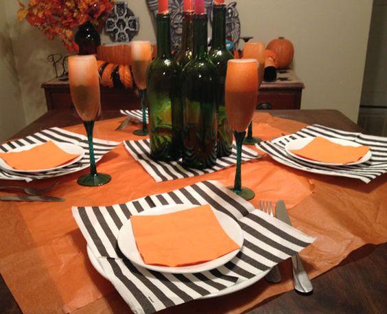 A Feast Fit for a Pumpkin King \u2013 Mad Like Alyce Halloween - halloween decorations on pinterest