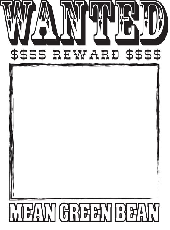 free wanted poster template Google Search – Free Wanted Poster Template for Kids