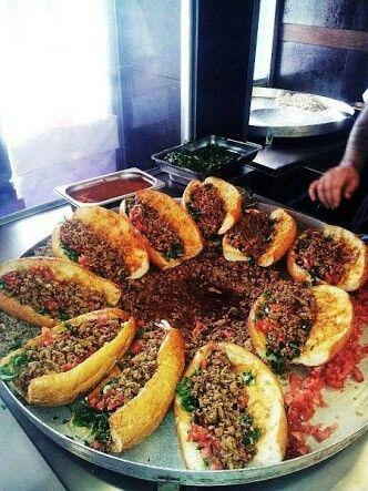 Tantuni, Carne picada condimentada, Turquía
