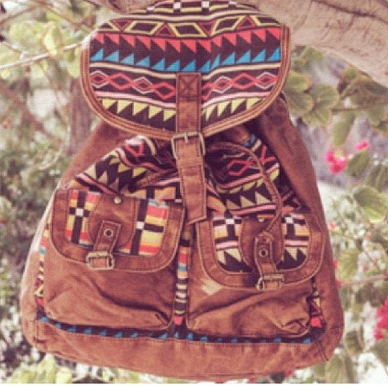 tribal packpack- if only it was big enough for school...:
