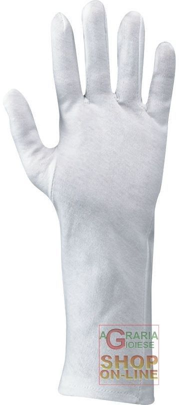 GUANTO COTONE BIANCO CM 35  TG  10 http://www.decariashop.it/home/7457-guanto-cotone-bianco-cm-35-tg-10.html