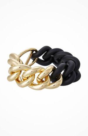 Elizabeth and James Bauhaus Bau Bracelet In Black #accessories  #jewelry  #bracelets  https://www.heeyy.com/elizabeth-and-james-bauhaus-bau-bracelet-in-black-black/