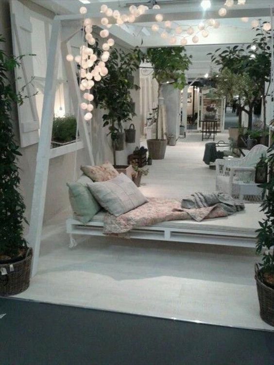 40 diy pallet swing ideas paletten schaukel betten outdoor und selber machen. Black Bedroom Furniture Sets. Home Design Ideas