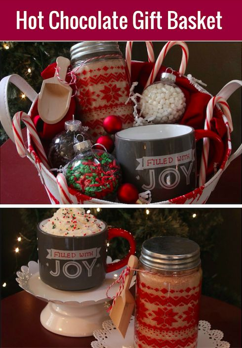 Hot Cocoa Gift Basket With Homemade Hot Cocoa Mix All Things Target Homemade Christmas Gifts Hot Chocolate Gift Basket Chocolate Gifts Basket