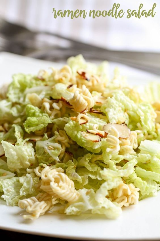 Ramen Noodle Salad | Recipe | Ramen Noodle Salad, Noodle Salads and ...
