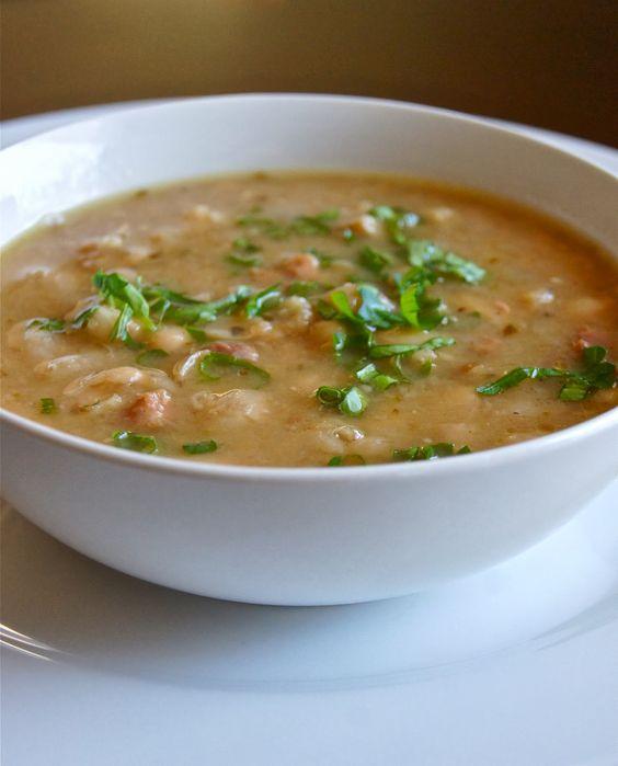 Cuban-Style White #Bean Soup