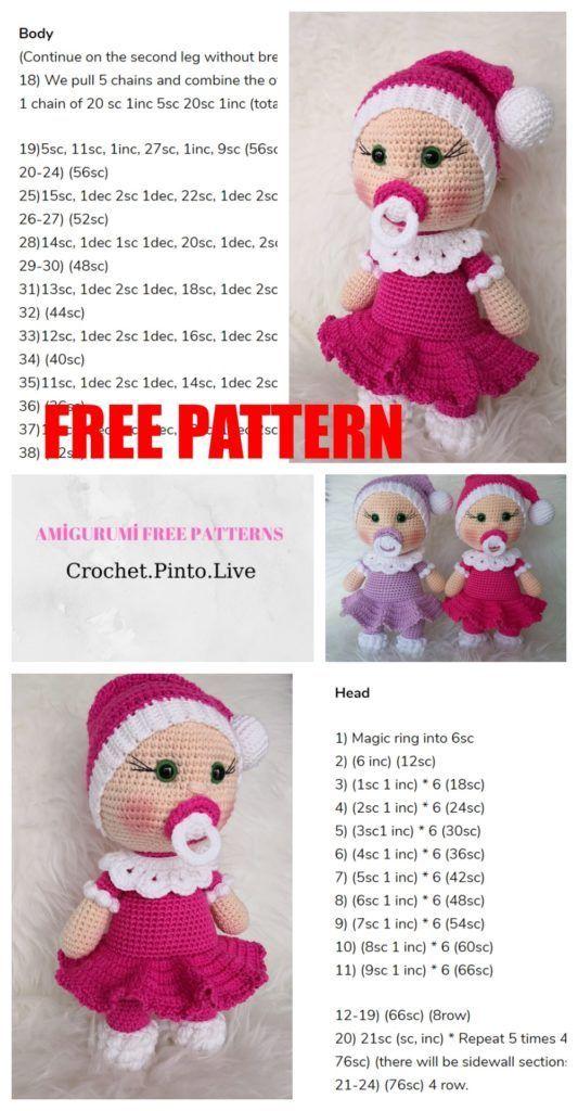 Amigurumi Doll Archives - Amigurumi Free Patterns and Amigurumi Tutorials | 1024x533