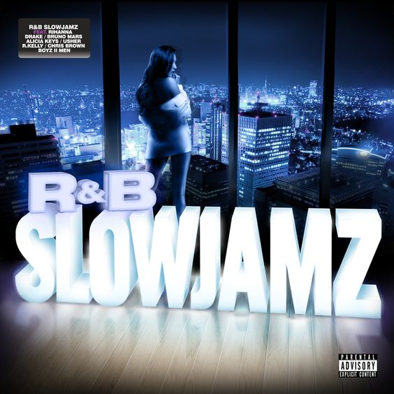 R Slowjamz Cover Artwork for Universal Music