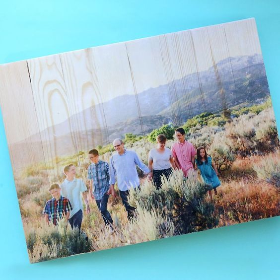 Diy Photo Pallet Mod Podge Photo Transfer To Wood It S Always
