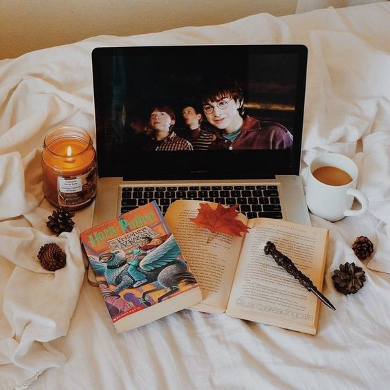 Harry Potter movie night aesthetic