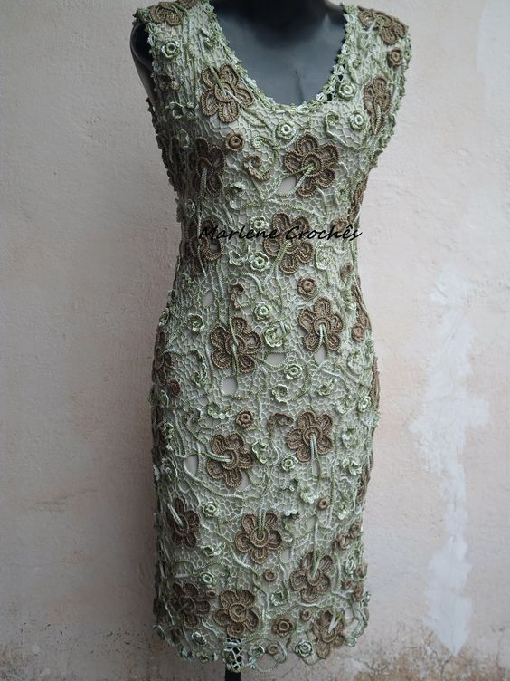 Marlene Crochês: vestidos
