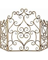 Kora Metal Fireplace Screen Multicolor - 20467