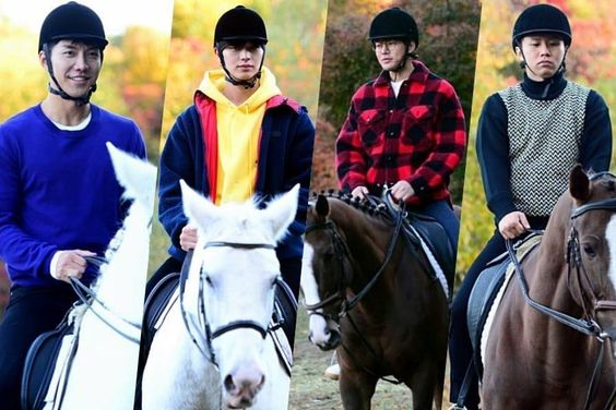 """Master In The House"" Cast Transforms Into Prince Charming On Horses"