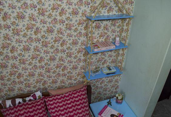 DIY - Prateleira de Cordas | Como fazer uma prateleira de cordas linda para decorar e organizar a casa!