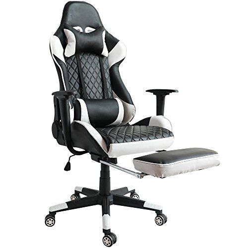 Stupendous Kinsal Ergonomic High Back Large Size Gaming Chair With Machost Co Dining Chair Design Ideas Machostcouk