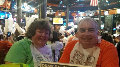 Stephanie and Brian at Dick's Last Resort 10-11-15