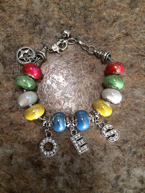 oes point charm bracelet by oesinspired on etsy oes