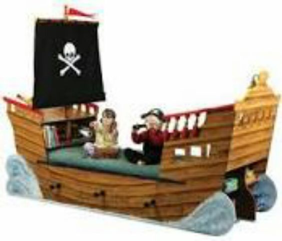 Boys Pirate Bedroom: Beds For Boys, Pirate Boats And Boat Beds On Pinterest