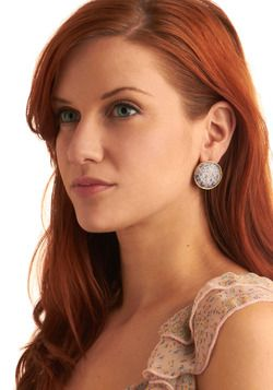I love these earings. they will look wonderful with my RED hair