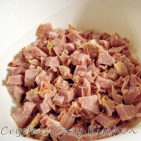 Crystal's Cozy Kitchen: Chicken Cordon Bleu Casserole - Freezer Meal Style