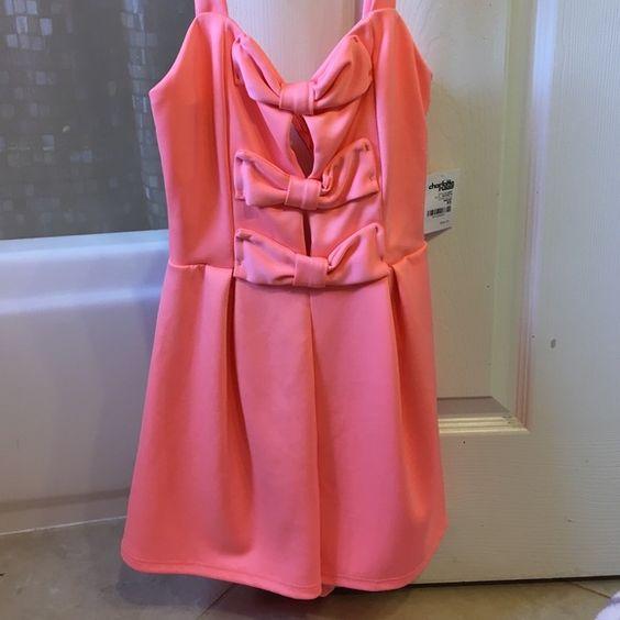 Charolette russe peach jumper. Peach jumper. Very cute and never worn Other