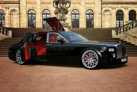 Rolls Royce Custom. Worried *they* might not remember to lay out the red carpet for you? Have no fears: bring your own.