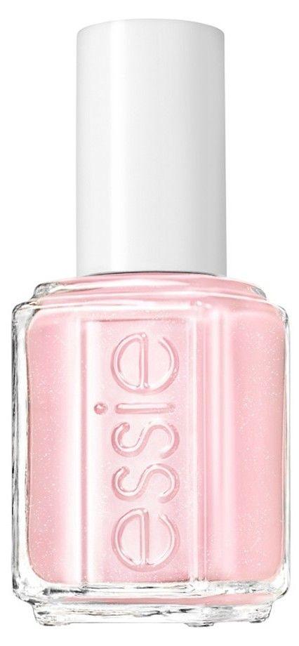 Pastel pink nail polish. Love it!