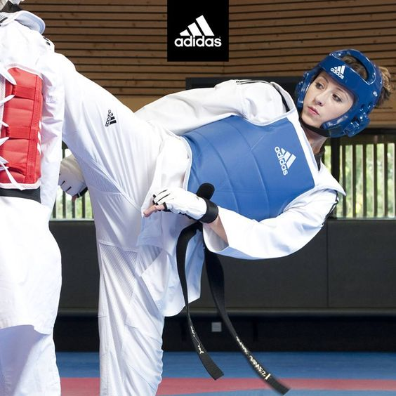 Adiflex approuvé par Jade Jones ! #adidas #taekwondo