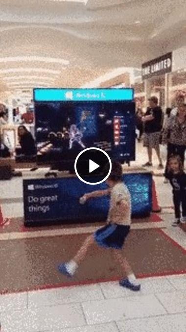 Show de dança essa criança.