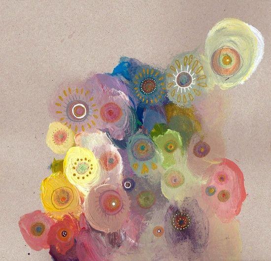 K ∙ Flowers Impressão artística